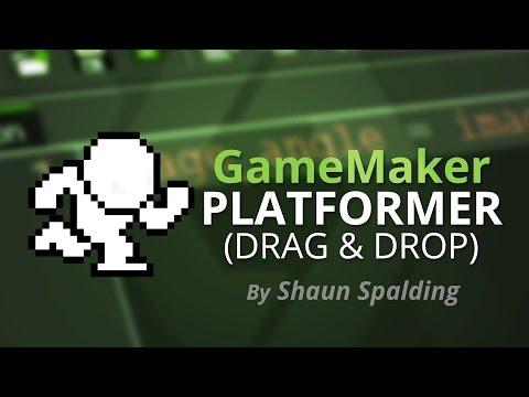 GameMaker Studio: Drag & Drop Platformer Tutorial