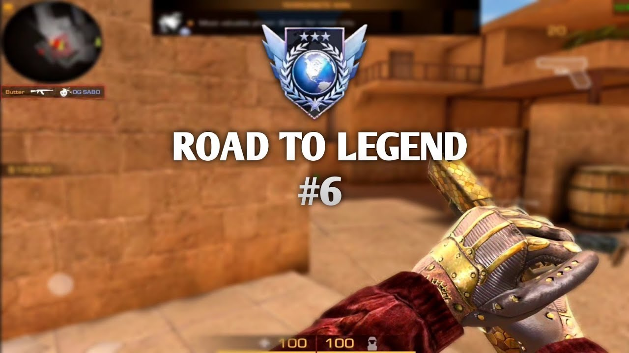 STANDOFF 2  Full Competitive Match Gameplay Road To Legend 6