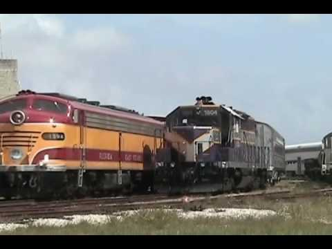 "Gold Coast Railroad Museum ""Experience The E-Units"" April 2008"