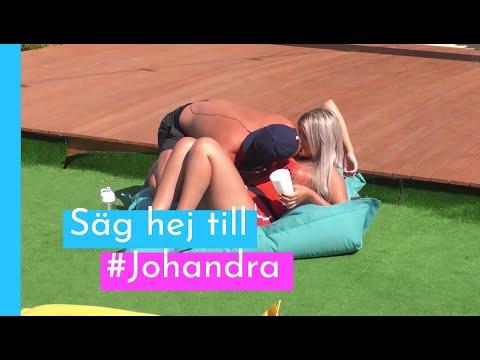 Nu är det officiellt - Johan och Sandra...
