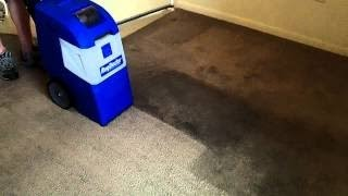Removing A Dark Stain With A Rug Doctor X-3