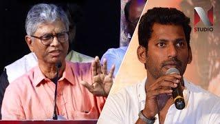 தலைவராக வருவதற்கு தகுதி வேண்டும் - S. A. Chandrasekar comments about Vishal