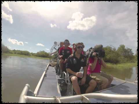 Airboat Tour at Wildman Wilderness Lodge