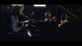 909 in studio ben folds with ymusic phone in a pool   the bridge