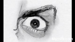 Draw the Eye (Anger)- Learn to Draw Angry Eye in 2 Minutes