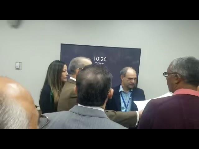 Franklin Almeyda y Robert de la Cruz se enfrentan en reunión con la JCE (2)