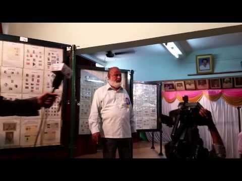 Philately Exhibition of Mr Sayed Nooruddin Bellary at Gadag. Aug 2014 (2)