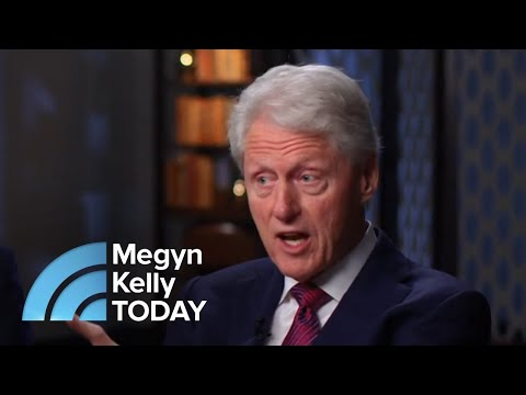Roundtable: Bill Clinton Was 'Defensive' About Monica Lewinsky Questions | Megyn Kelly TODAY