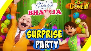 Chacha Bhatija In Hindi- EP15   Surprise Party   Funny Videos For Kids   Wow Kidz Comedy