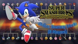Super Smash Bros Ultimate Part 1_ Sonic X Online Tourney Mode (8 Players) (1080p60fps)