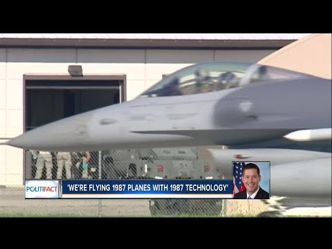 PolitiFact Wisconsin: Is Air Force 'flying 1987 planes with 1987 technology'