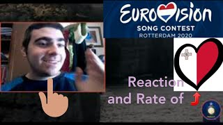 "EUROVISION 2020 | Malta - Destiny ""All of my love"" (Reaction and Rate)"