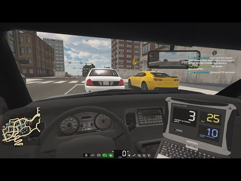 Police gameplay - Flashing Lights (Alpha)