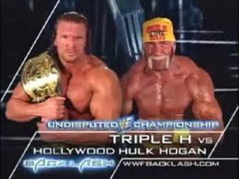 Wwe Undertaker Vs Triple H King Of The Ring