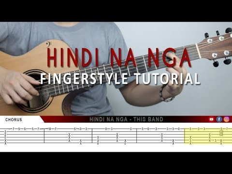 (Tutorial) Hindi Na Nga - This Band ( Fingerstyle Guitar)