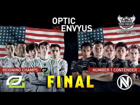 Gears of War 4 | OPTIC GAMING VS TEAM ENVYUS (nV) | MEXICO CITY GEARS ESPORTS OPEN (MAP 2)