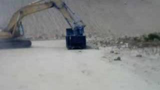Tearing Down Border Wall - Throwing out Scraps