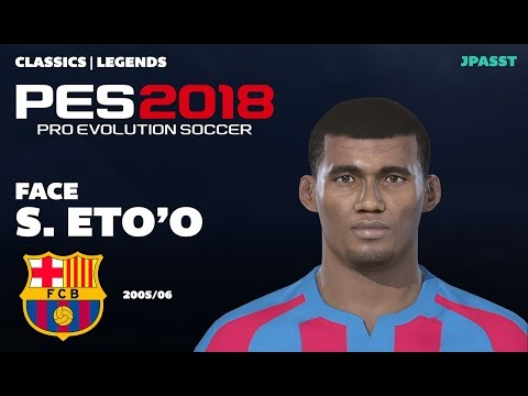 S. Eto'o - FC Barcelona 2005-06 | PES 2018