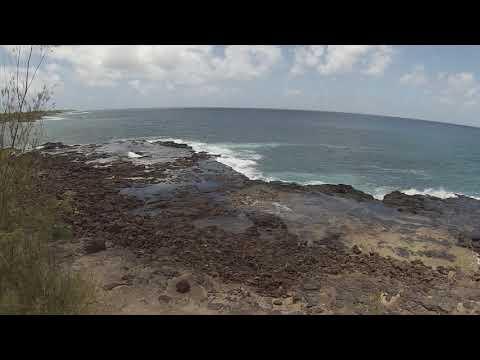 spouting horns-kauai