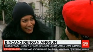 Anggun - Exclusive Interview with CNN Indonesia at Paris [18 / 12 / 2015]