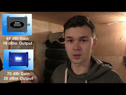 Как усилить сигнал сотовой сети? Интернет в гараже или на даче.
