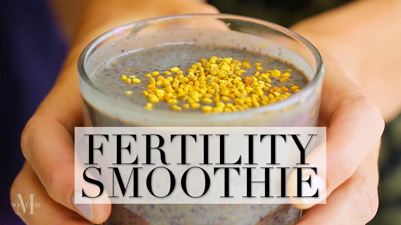 The NEW Fertility Smoothie Recipe to Get Knocked Up