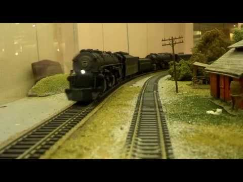 Norfolk and Western 1214 and 2087 doubleheaded with water tender's and coal part 2