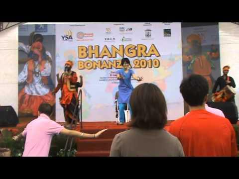 Mass Bhangra Dance Interaction by SherePunjab Bhangra