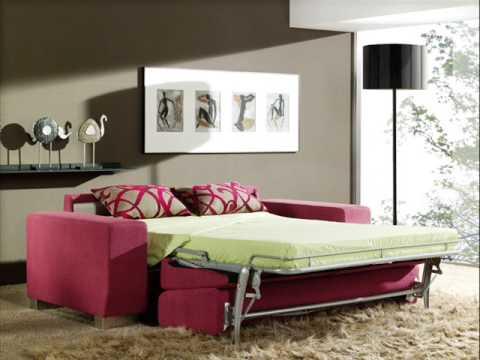 Sofas y sofas cama en muebles salvany youtube for Muebles salvany
