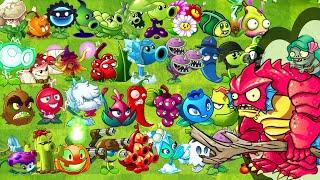 Every Plant Power Up vs Deep Sea Gargantuar Plants vs Zombies 2 All Plants Power UP
