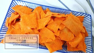 Crispy Cheese Chips Recipe / Resepi Popia Cheese Viral