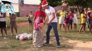 Corrida do Saco Brincadeira de Criança Projeto Social Universo da Elétrica