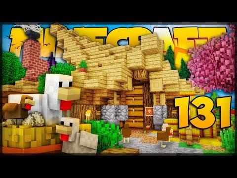 GALINHEIRO COM FARM DE FRANGO! // Meu Mundo #131 // Minecraft