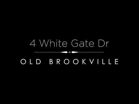4 White Gate Drive     Old Brookville, NY     4K Video