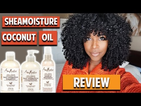 SheaMoisture 100% Virgin Coconut Oil Review