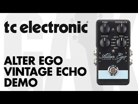 TC Electronic - Alter Ego Vintage Echo V2 Demo At GAK