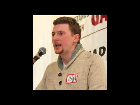 Caleb Maupin at the Workers World Party 2014 National Conference