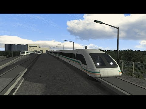 Train Simulator 2018 | Shanghai Maglev Route Add-On | Maglev Train | Pudong Airport to Shanghai HD