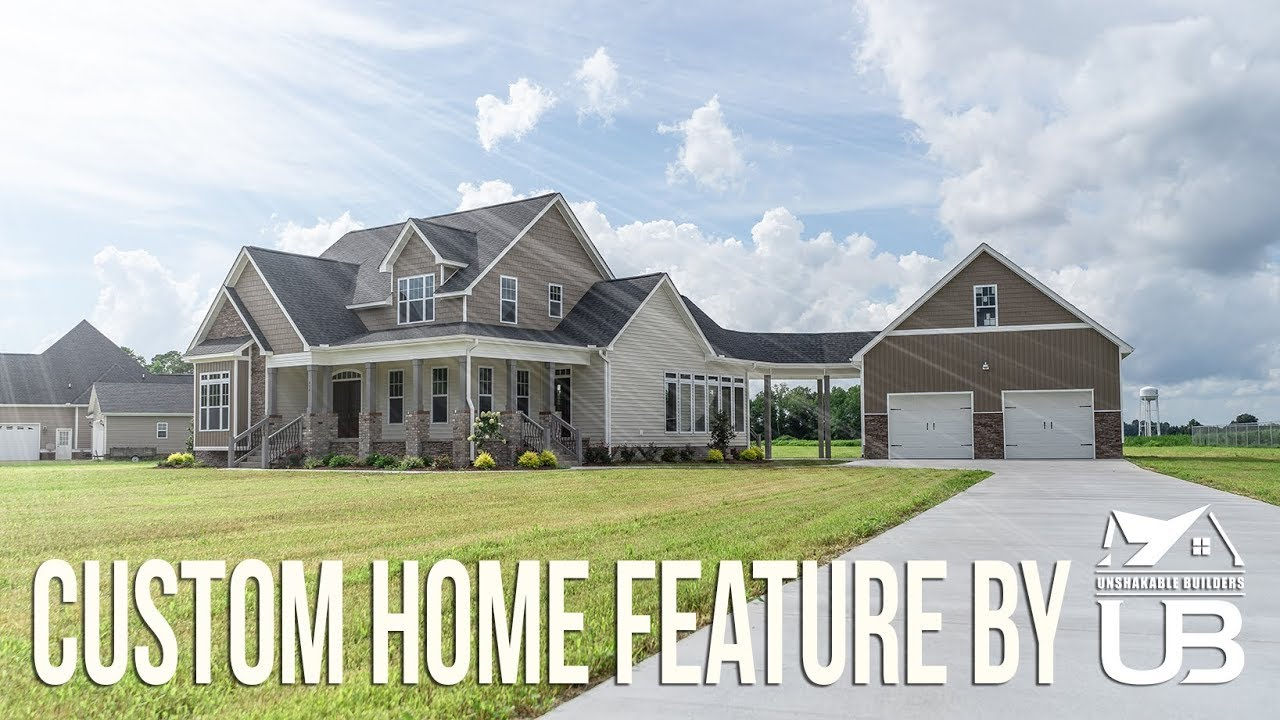 Custom Home Build | Unshakable Builders | Featured Work