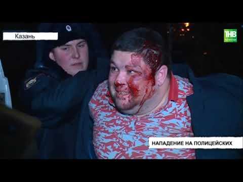 В Казани полицейские ночью задержали 11 человек на улице Братьев Касимовых