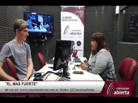 """Marcela Montenegro en """"EL MAS FUERTE"""" 26-10-18 Radio Conexion Abierta"""