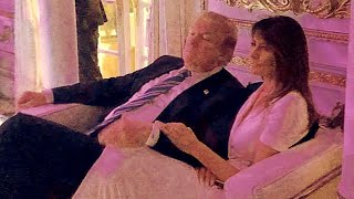Photo Captures Rare Moment of Affection Between President and First Lady thumbnail