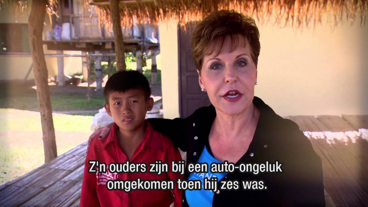 Hand of Hope in Thailand (het zendingswerk van Joyce Meyer Ministries)
