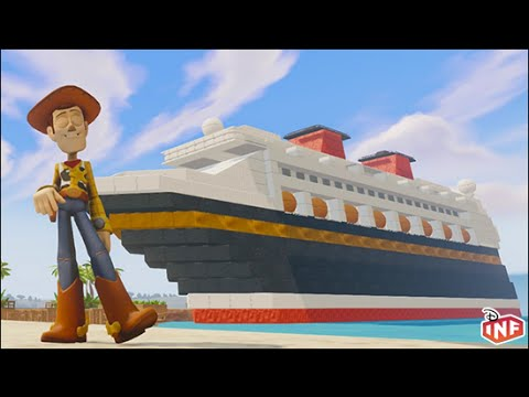 Disney Dream Vacation A Disney Infinity Toy Box Preview YouTube - Toy disney cruise ship