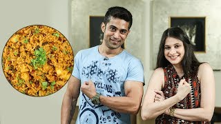 Rajma Pulao Recipe | How To Make Red Beans Rice | Ruchi's Kitchen ft. Fitness Special with Royston