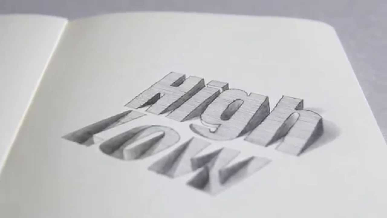 Crazy Text Illusion 3d Typography Illustration Youtube