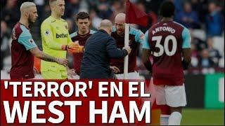 West Ham 0-3 Burnley I Los fans del West Ham invaden el campo | Diario AS