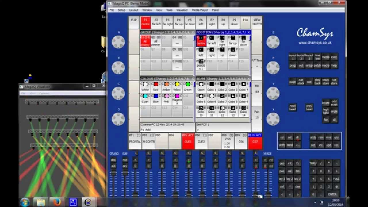 sc 1 st  YouTube & Chamsys MagicQ pc Tutorial 6: Ten steps to create a show - YouTube azcodes.com