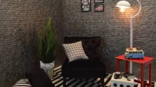 How to Install 3D Wall Paneling - Interlocking Ledge Stone by Innovera Décor