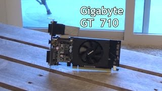 Geforce GT 710 Review 2GB From Gigabyte